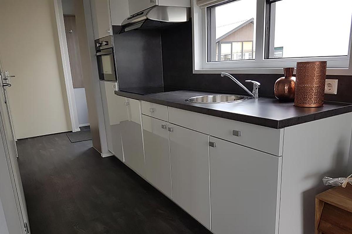 5. Ocala Mobilheim Küche in weiss