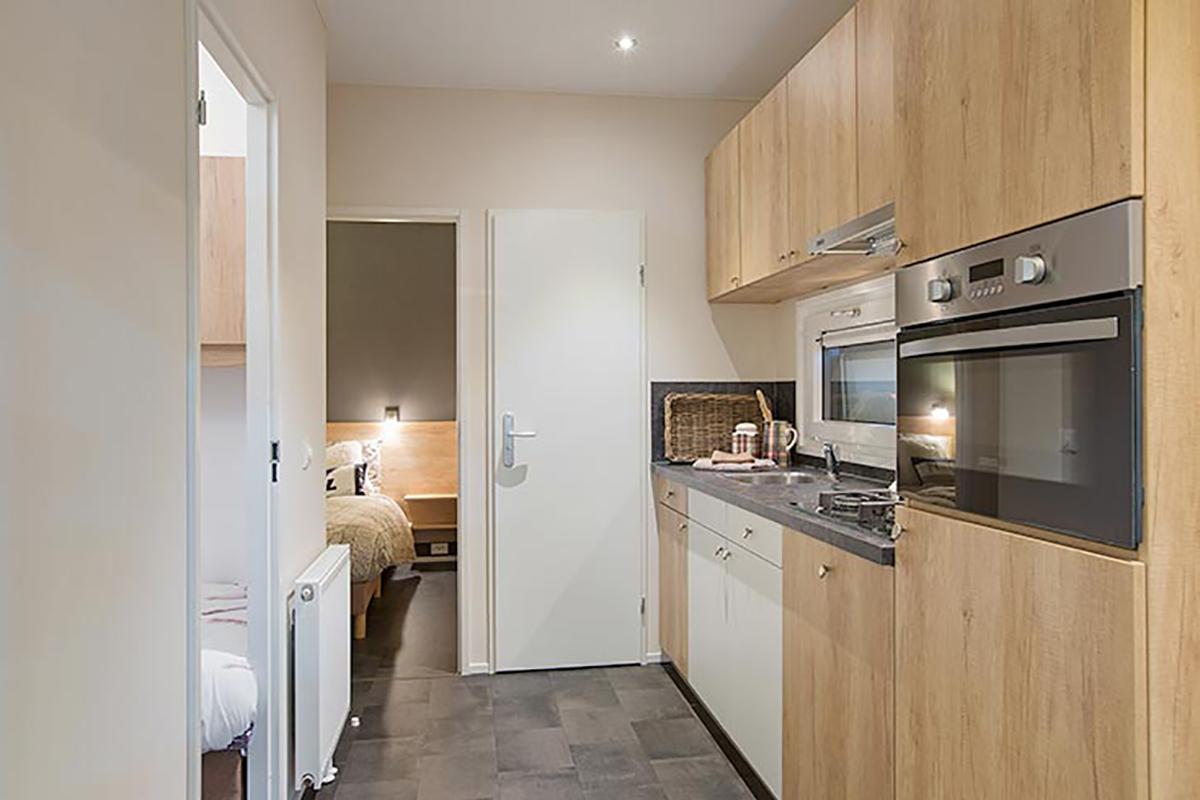 4. New Bay Mobilheim mit der Standard Küche