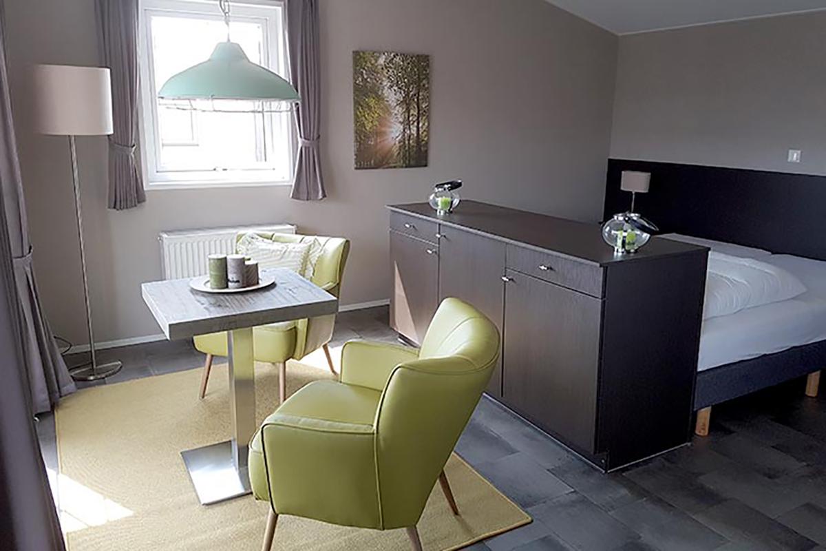 5. Chatel Mobilheim mit Standardschlafzimmer