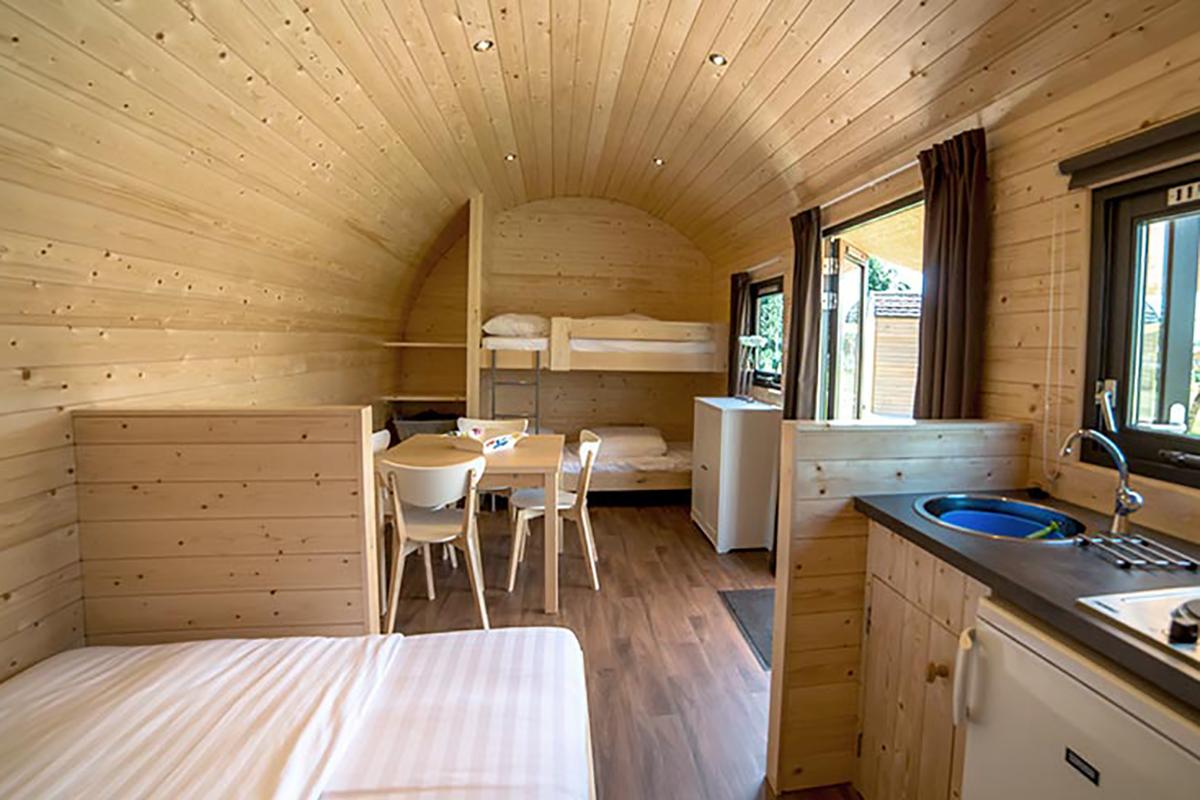 5. Woodlodge Mobilheim  Schlafbereiche