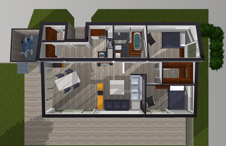 5. Planungskonzept Interaktiv Ferienmobilien INNEN